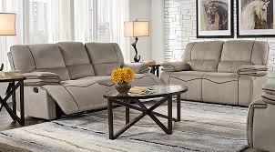 livingroom pc alberta trails gray 5 pc living room living room sets gray