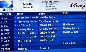 directtv channel guide what u0027s on tv your disney world tv channel line up touringplans