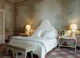 Head In Comfortable Bed Inside The Lavish Italian Palazzo Owned By Godfather Director