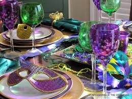 mardi gras table decorations confessions of the obsessed mardi gras