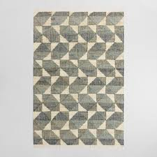 Area Rug Pictures Geo Print Jute And Cotton Morrison Area Rug World Market