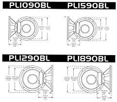 pyle pl1890bl blue wave series 18 inch 1800 watt dvc subwoofer