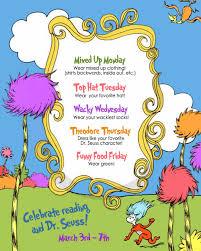 halloween spirit week ideas dress up to read across america week seusville pinterest