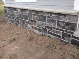 stone texture elegant home improvement decor with halquist stone