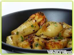 topinambour recette cuisine recette 100 végétale topinambours rôtis à l estragon vieux
