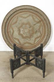 moroccan tea table stand moroccan round brass tray coffee table moroccan trays and rounding