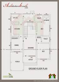 kerala floor plans architecture kerala contemporary elevation and house plan low