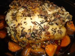 paleo dinner tonight crock pot rosemary turkey breast and the