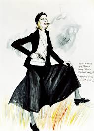 theadora van runkle theadora van runkle costume sketch for faye dunaway in bonnie and