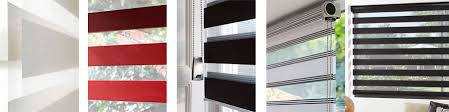 Trendy Roller Blinds Bedroom Roman Blinds With Bottom Half Privacy Panels For Window 23