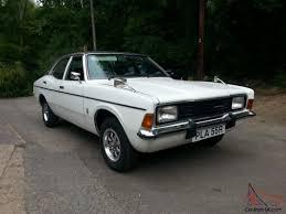 1976 ford cortina 2000e 4dr auto diamond white black vinyl roof mot