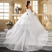 Beautiful Wedding Dresses Elegant Collections Of Lace Wedding Dresses With Long Trains