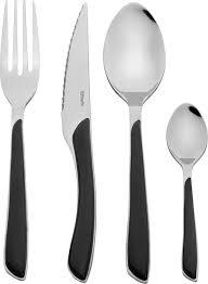 amefa eclat cutlery set 24 pieces black 2214 aawb 12 c 40 ebay