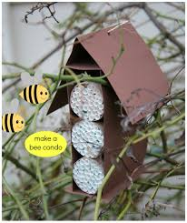 bee kind to bees make a bee condo kix cereal