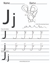 letter j worksheets kindergarten worksheets