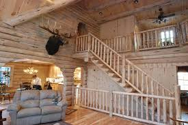 log cabin homes interior keplar home 2204 sq ft