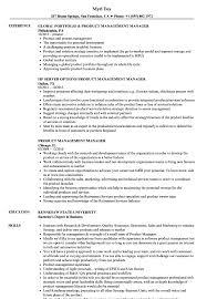 product management manager resume samples velvet jobs