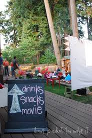 39 best outdoor movie nights images on pinterest outdoor movie