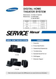 samsung home theater system manual samsung ht a100t xef ht xa100t xef service manual download