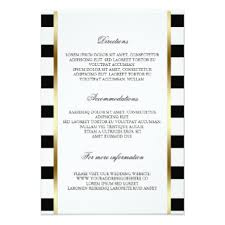 black and white striped wedding invitations black and white striped invitations announcements zazzle