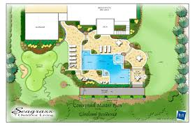 House Plans With Swimming Pools Sleek Architectural Home Design With Elevated Swimming Pool Modern
