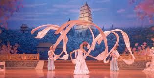 ribbon dancer the of motion ribbon dancer