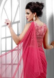 color designer buy butta pink color designer long gown type anarkali suit online