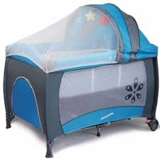 mamakiddies large infant portable travel cot baby cot play pen