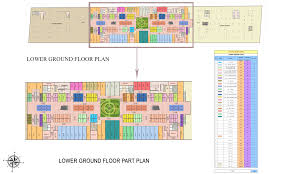 Multiplex Floor Plans by Retail Spaces Floor Plan Spectrum Metro