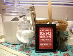 Laundry Room Decorating Accessories by Happy Laundry Room Do Over Decor Craft O Maniac