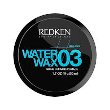 redken water wax 03