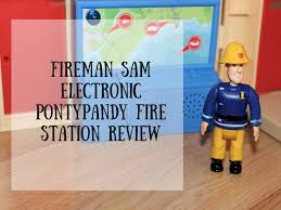 fireman sam electronic pontypandy fire station review