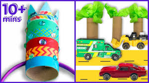 5 recyled toilet roll crafts and activities for kids youtube
