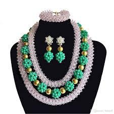 beads necklace india images India women jewelry sets nigerian wedding beads bridal costumes jpg