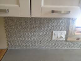 penny tile backsplash and traditions in tile at brier creek tile