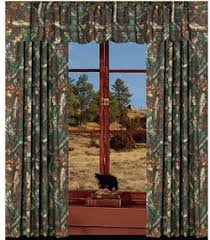 Blue Camo Curtains Rustic Cabin Lodge Curtains And Drapery