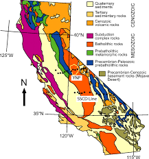 Map Of Yosemite Foundering Lithosphere Imaged With Magnetotelluric Data Beneath