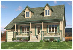 Cottage House Kits by Backroad Homes Simple Country Designs For Small Homes Farmhouses