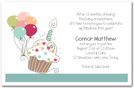 birthday invitation wording for kids 1st birthday iidaemilia com