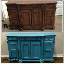 puter cabinet painted with DecoArt Americana Decor chalk paint