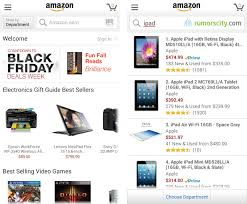 black friday amazon app top 10 iphone and android shopping apps for 2013 christmas countdown