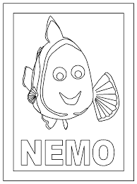 finding nemo characters coloring pages coloring home