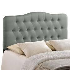 Grey Tufted Headboard King Best 25 Gray Headboard Ideas On Pinterest Gray Bed Gray