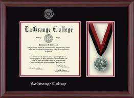 college diploma frames lagrange college commemorative medal diploma frame in cambridge