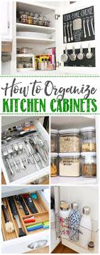kitchen pantry storage cabinet ideas how to organize kitchen cabinets clean and scentsible
