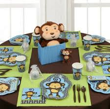 monkey centerpieces for baby shower fascinating monkey themed baby shower centerpieces 49 in image