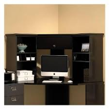 Corner Desk Furniture Amazon Com Stockport Corner Desk In Classic Black Kitchen U0026 Dining