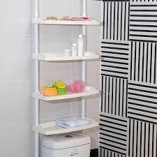 Bathroom Hutch Over Toilet White Plastic Assemblable Bathroom Shelves Over Toilet