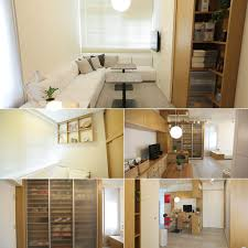 hong kong tiny apartments a case study of how an apartment can be renovated using muji