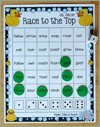 activities for teaching the oa ow oe digraphs make take u0026 teach